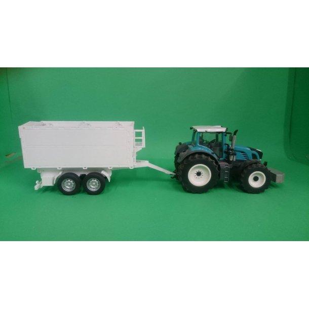 Byggesæt trailer 2-akslet med høje sider