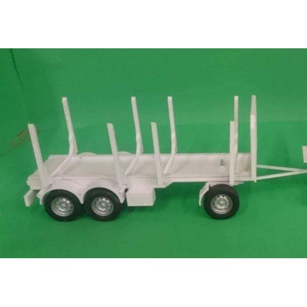 Byggesæt kævletrailer 3-akslet
