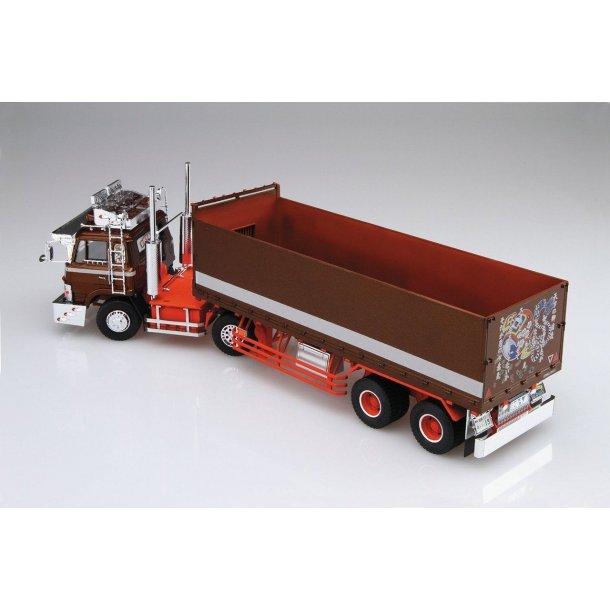 Plastbyggesæt lastbil med trailer 1/32