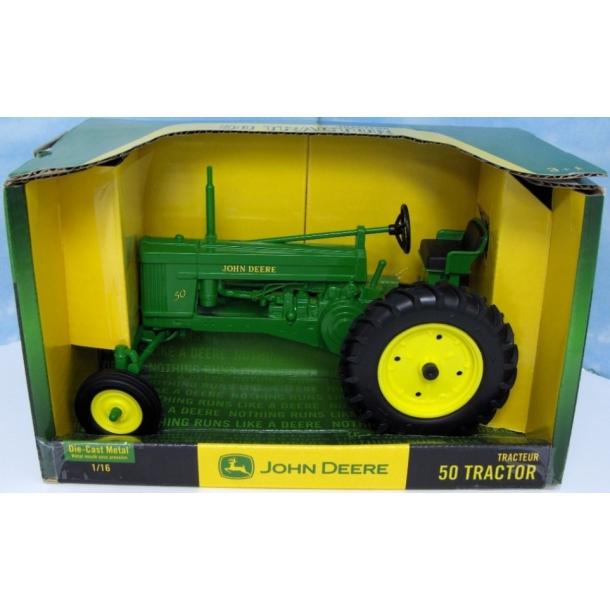 John Deere 50 widefront traktor 1/16 Ertl