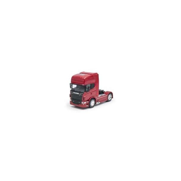 Scania V8 R730 (4x2) rød lastbil 1/32 Welly