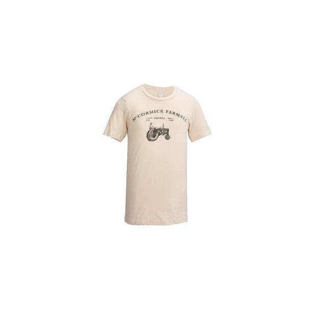 T-Shirt IH Mccormick Farmall Vintage cremehvid