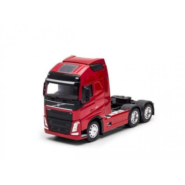 Volvo FH 3-akslet rød lastbil 1/32 Welly