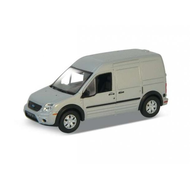 Ford Transit Connect sølv 1/34 Welly