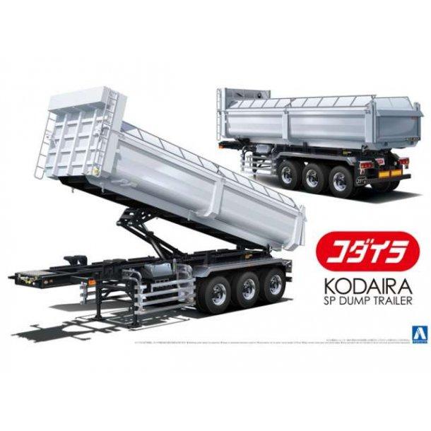 Byggesæt jord trailer 1/32 Koidara