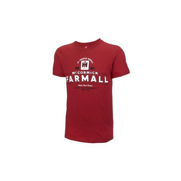 T-Shirt IH Farmall American Original rød