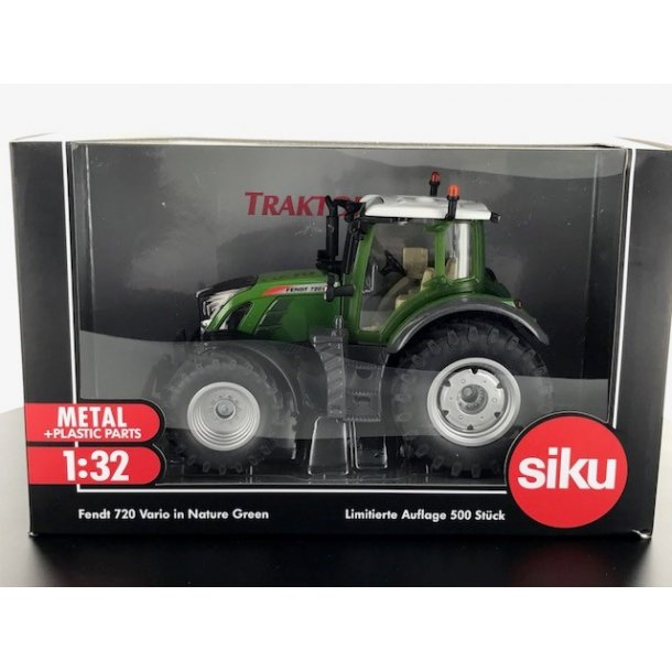 Fendt 720 Vario Nature Green - Limited Edition 500 stk Traktorado traktor 1/32 Siku