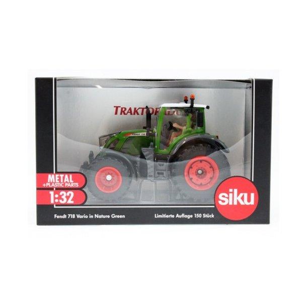Fendt 718 Vario Nature Green - Limited Edition 150 stk Traktorado traktor 1/32 Siku