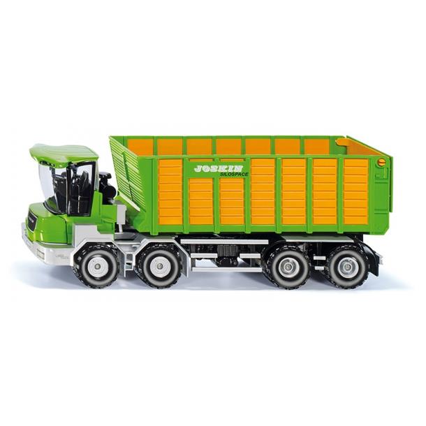 Joskin Cargo-Track m/græskasse 1/32 Siku