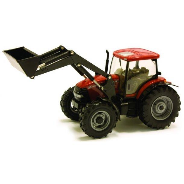 Case IH Maxxum 110 med frontlæsser traktor 1/32 Britains