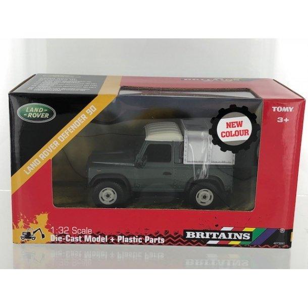 Land Rover Defender 90 grøn 1/32 Britains