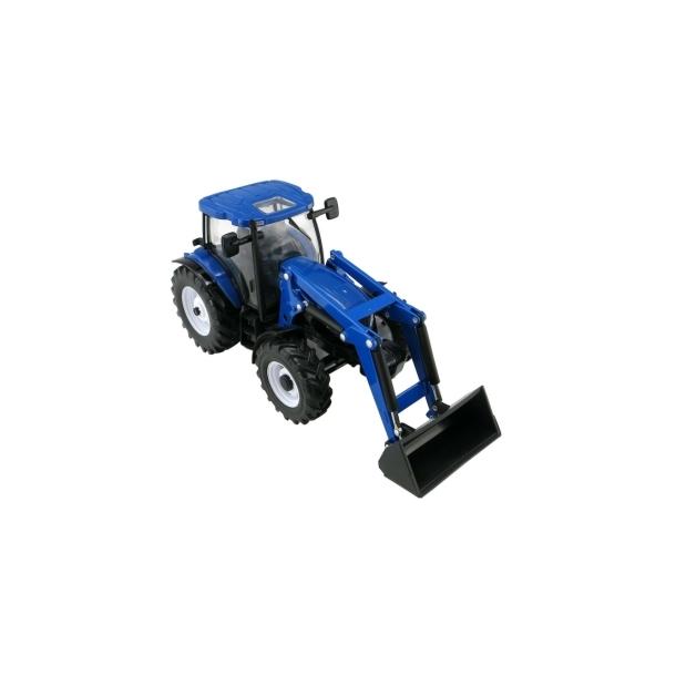 New Holland T6.180 med frontlæsser traktor 1/32 Britains
