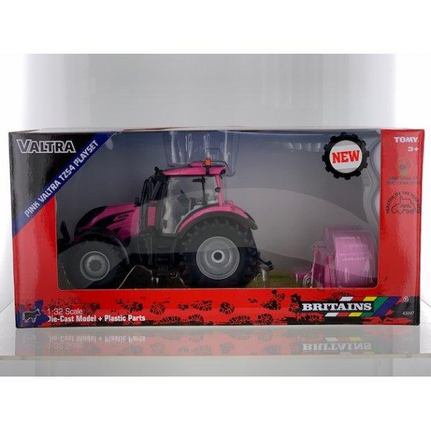 Valtra N Pink Edition traktor sæt 1/32 Britains