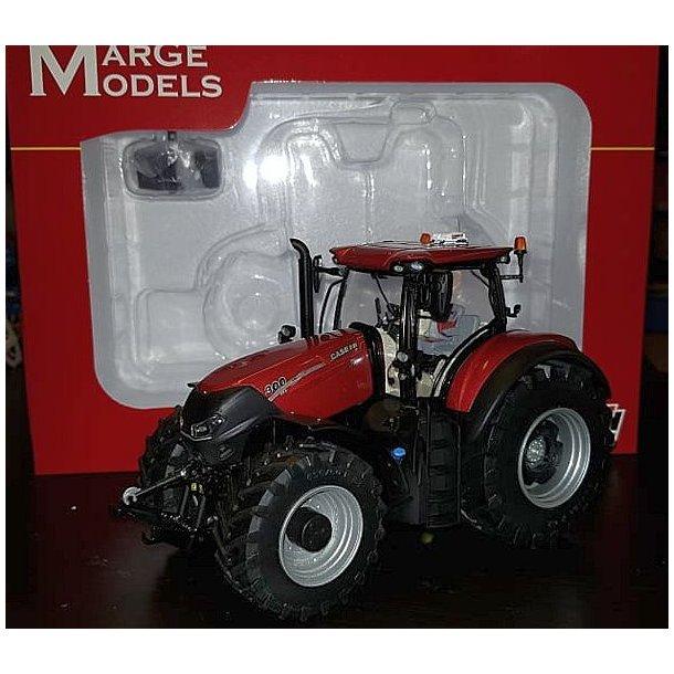 Case IH Optum 300 CVX Pearl Red limited  500 stk traktor 1/32 Marge Models