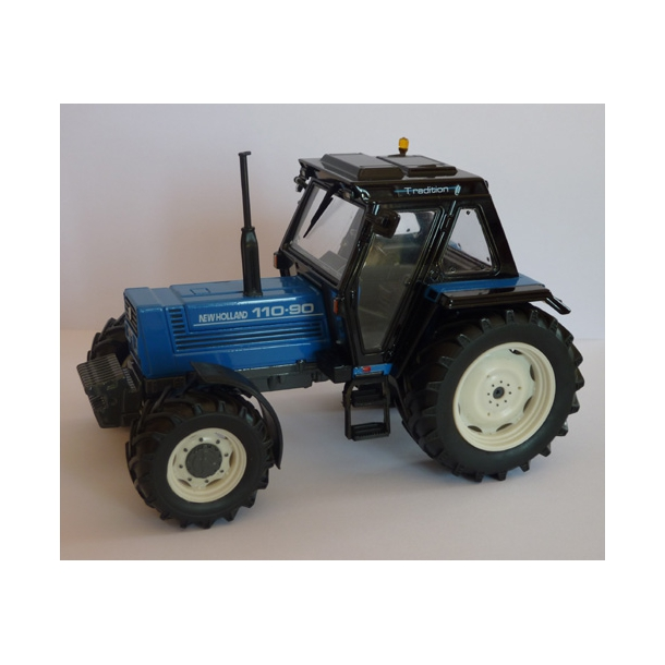 New Holland 110-90 Limited Edition blå traktor 1/32 ROS