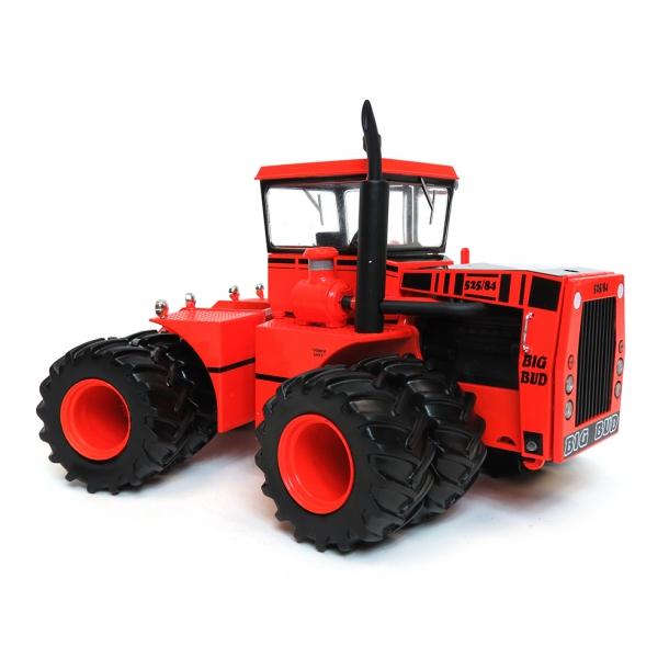 Big Bud 525/84 limited editon 1500 stk Cruiser Cab m/tvillinghjul traktor 1/32 Top Shelf Replicas