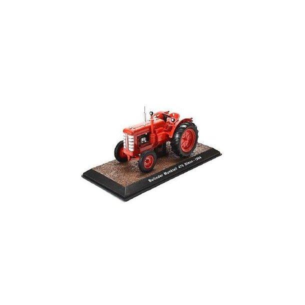 Bolinder Munktell 470 Bison 1964 traktor 1/32 Atlas