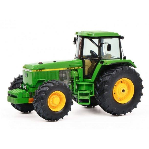 John Deere 4955 NY version på andre hjul traktor 1/32 Schuco