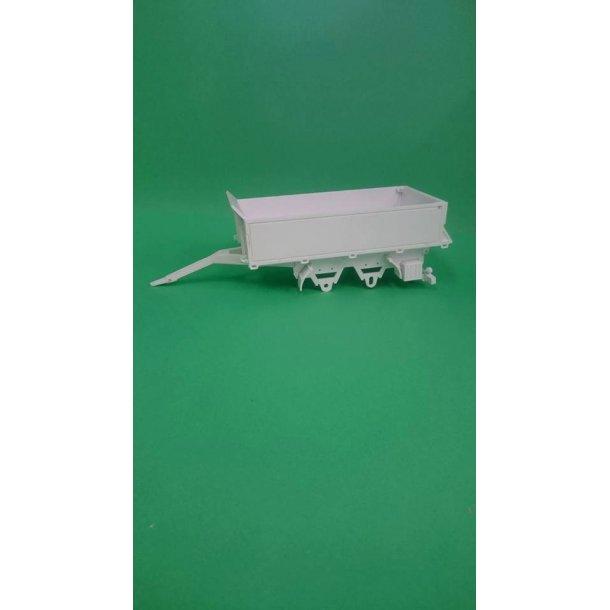 Byggesæt trailer 2-akslet med lavesider
