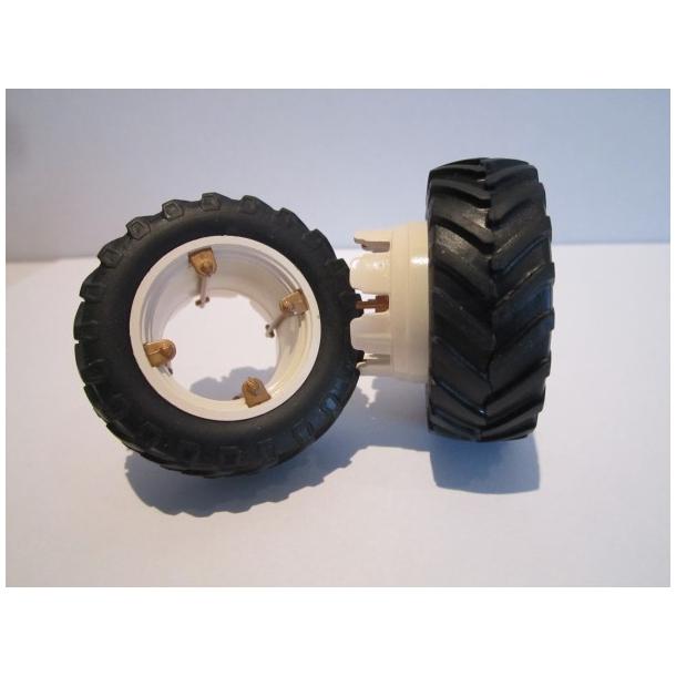 Tvillinghjuls sæt fra Fiat 100/110-90 1/32