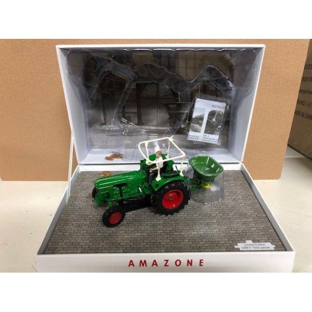 Deutz D6005 med Amazone ZA - Limited Edition traktor og gødningsspreder 1/32 UH Universal Hobbies