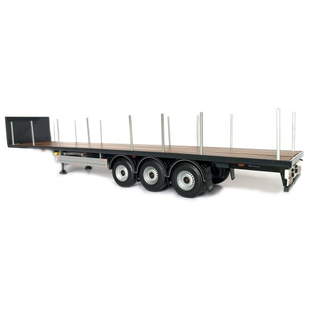 Pacton flatbed trailer antracit 1/32 Marge Models
