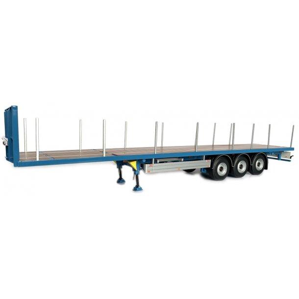 Pacton flatbed trailer blå 1/32 Marge Models