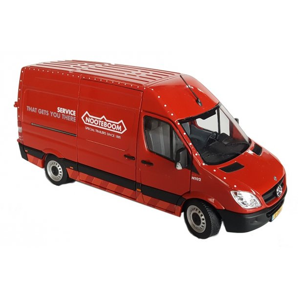 Mercedes-Benz Sprinter rød Nooteboom Edition  1/32 Marge Models