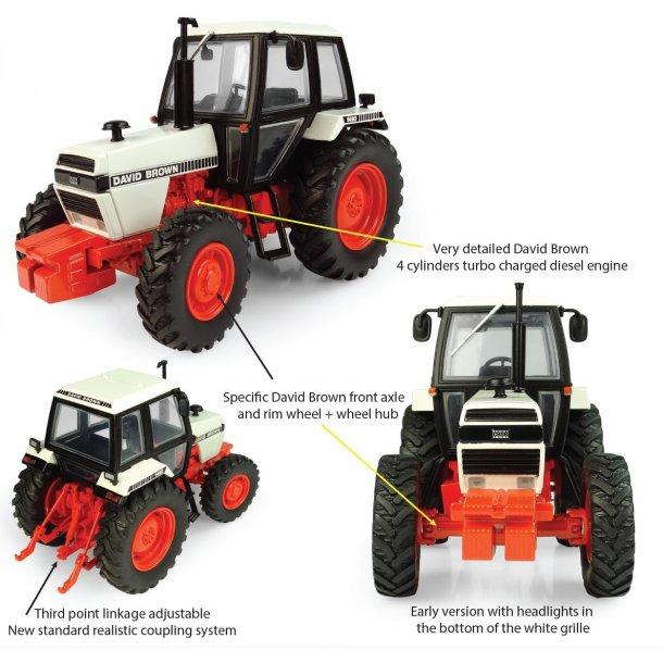 David Brown 1490 - 4WD traktor 1/32 UH Universal Hobbies