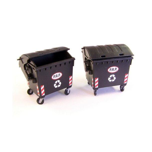 Affaldscontainer 1/35 Plusmodel