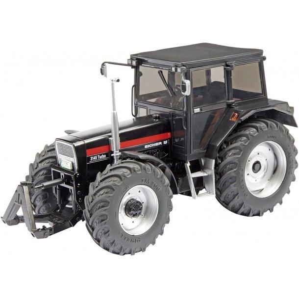 Eicher 3125 turbo traktor i sort 1/32 Schuco