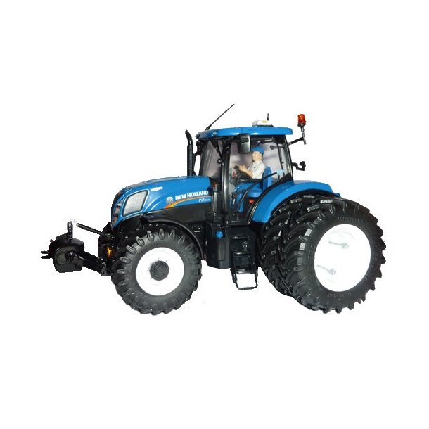 New Holland T7.210 med tvillinghjul Limited Edition 1/32