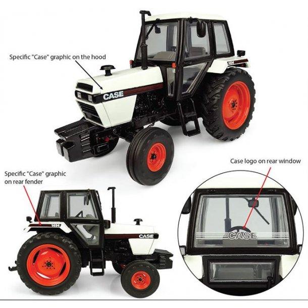 Case 1494 2wd traktor 1/32 UH Universal Hobbies