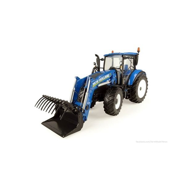 New Holland T5.120 med frontlæsser 1/32 UH Universal Hobbies