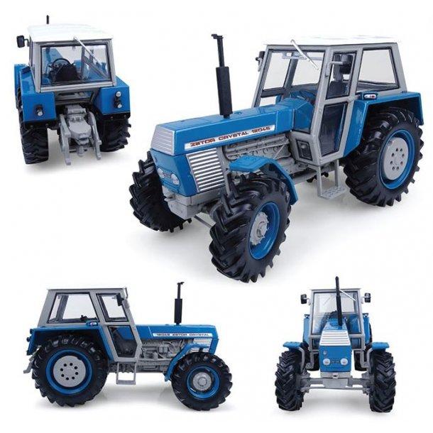 Zetor Crystal 12045 4wd blå traktor 1/32 UH Universal