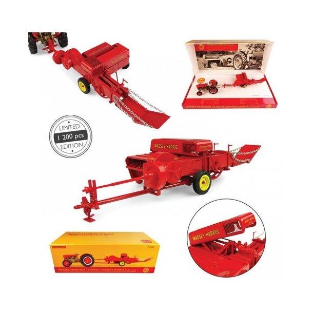 Massey Ferguson 35 Deluxe + Massey Harris Baler - Limited Edition traktor 1/32 UH Universal Hobbies