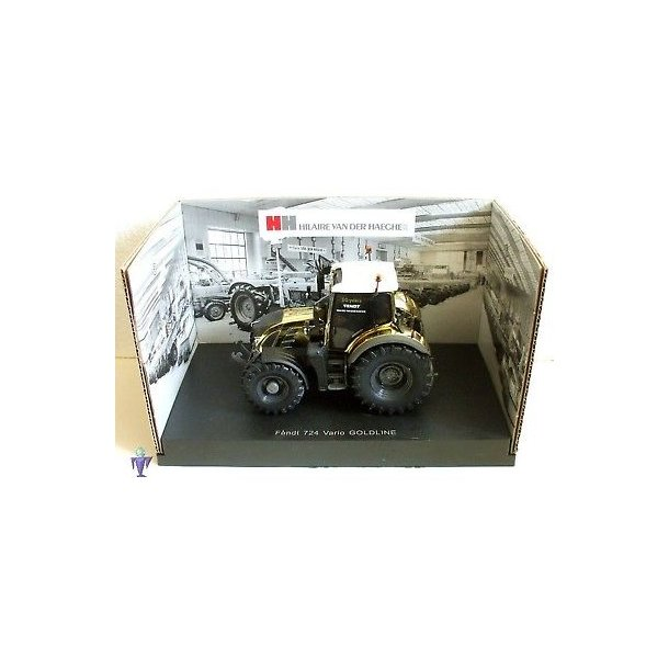 Fendt 724 Vario Gold Edition Limited Edition 1000 stk traktor 1/32 UH Universal Hobbies