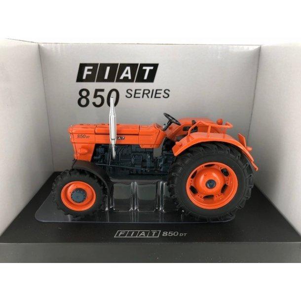 Fiat 850 DT Super orange fælge limited edition traktor 1/32