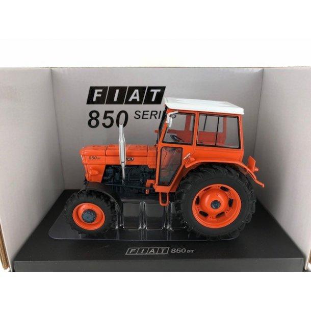 Fiat 850 DT Super med hus og orange fælge limited edition traktor 1/32
