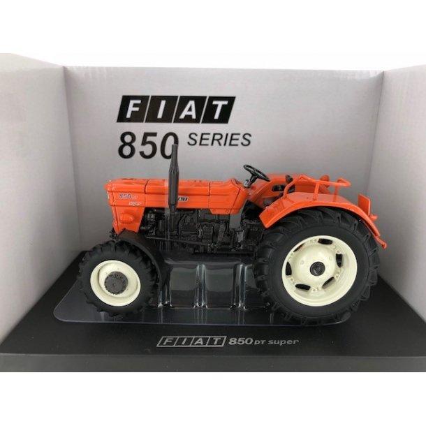 Fiat 850 DT Super hvide fælge limited edition traktor 1/32
