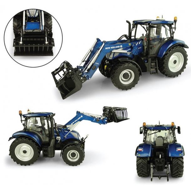 New Holland T6.175 Blue Power med 770TL frontlæsser 1/32 traktor UH Universal Hobbies