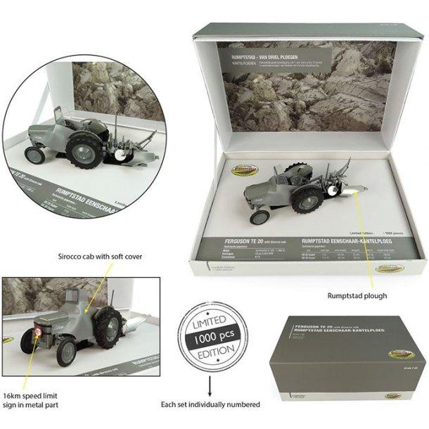 Ferguson TEA20 med Rumptstad plov - Limited Edition 1/32 UH Universal Hobbies