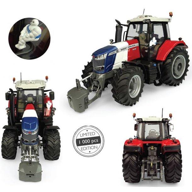 Massey Ferguson 7726S Blå/Hvid/Rød - Limited Edition traktor 1/32 UH Universal Hobbies