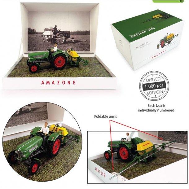 Fendt Farmer 2 med Amazone S300 - Limited Edition 1/32 traktor UH Universal Hobbies