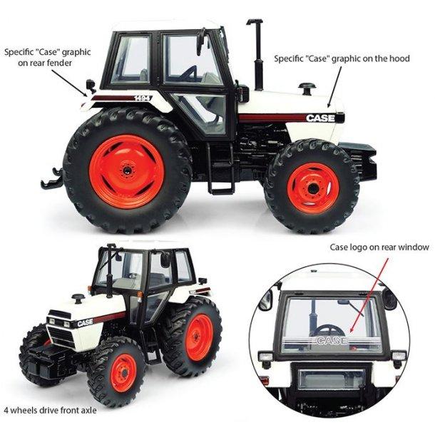 Case 1494 4wd traktor 1/32 UH Universal Hobbies