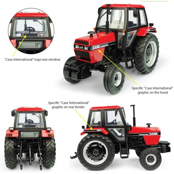 Case IH 1494 2wd traktor 1/32 UH Universal Hobbies