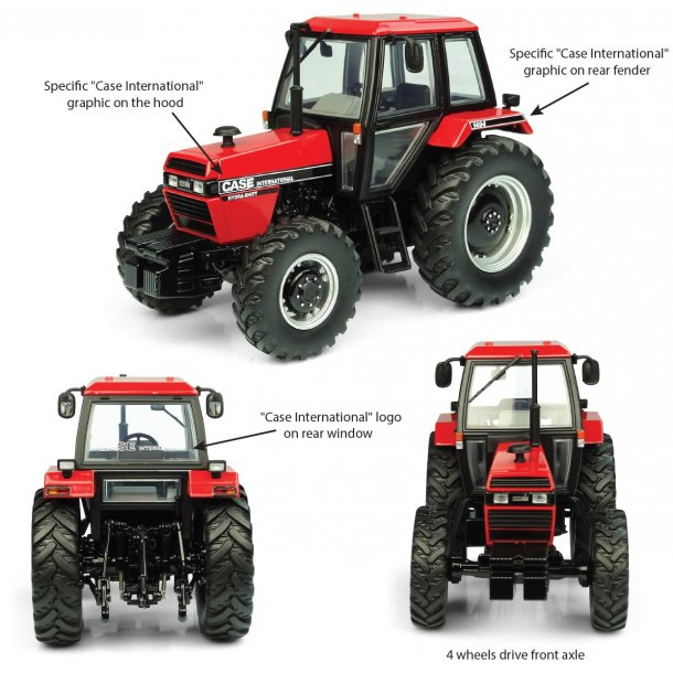 Case IH 1494 4wd traktor 1/32 UH Universal Hobbies