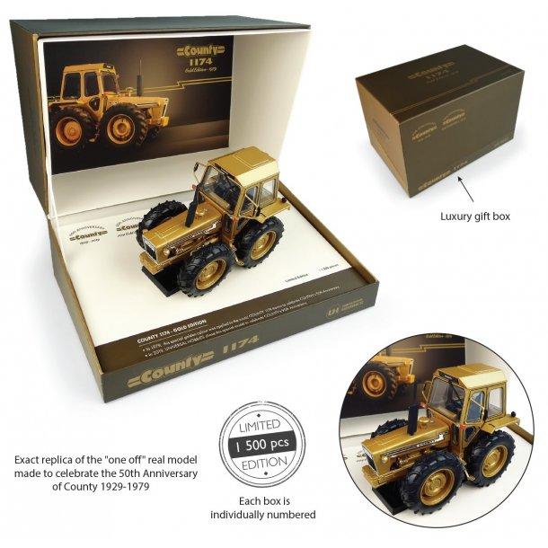 Ford County 1174 Gold Edition 50års jubilæumsmodels 1929 – 1979 1/32 traktor UH Universal Hobbies