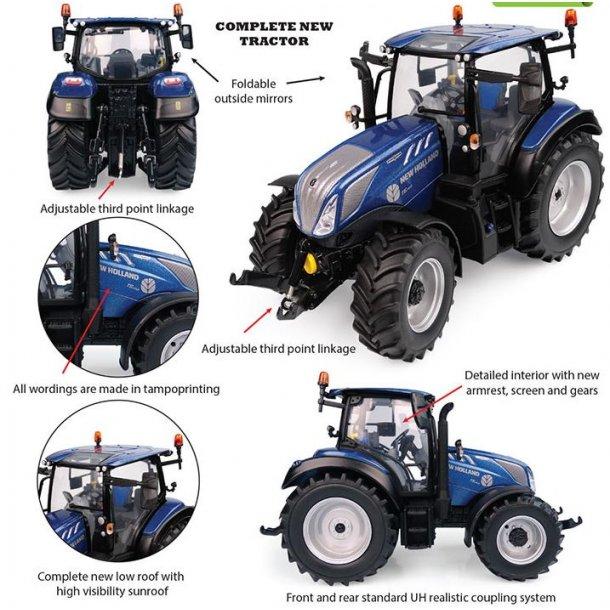 New Holland T5.140 Blue Power panorama tag traktor 1/32 UH Universal Hobbies
