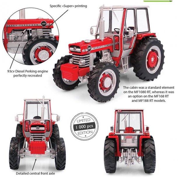 Massey Ferguson 1080 Super RT 4wd 1973 - Limited Edition traktor 1/32 UH Universal Hobbies